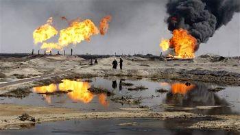 تولید نفت میدان خباز متوقف شد