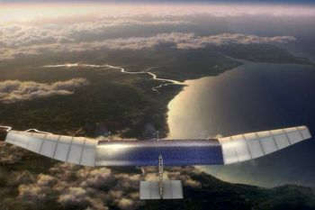 هواپیمای بدون سرنشین فیسبوک تا ۲۰۱۵ پرواز می کند