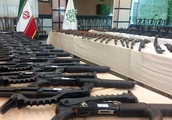 انهدام باند سازمانیافته توزیع سلاح جنگی و شورشی در فریدونکنار