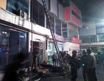 جانباختن یک آتشنشان حین عملیات اطفای حریق در جنوب تهران
