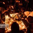 گزارش تصویری تجمع دانشجویان در مقابل دانشگاهها برای همدردی با خانواده جانباختگان هواپیمای اوکراینی