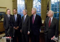 پیامهای تسلیت سران کشورها به مناسبت درگذشت جرج بوش پدر؛ از پوتین تا مکرون