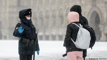 افزایش بیش از یکهزار مورد کرونا در روسیه در ۲۴ ساعت گذشته