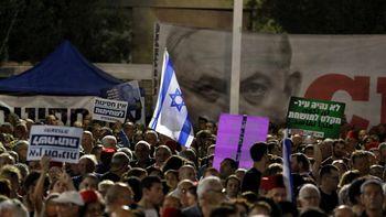 تظاهرات اعتراضی در تلآویو