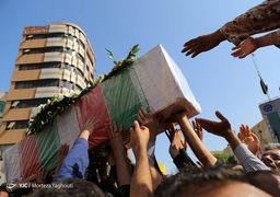 تصاویر تشییع پیکر شهدای حادثه تروریستی اهواز