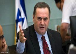 وزیر اطلاعات اسرائیل ایران را به واکنش نظامی تهدید کرد