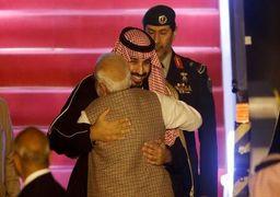 استقبال بیسابقه نخستوزیر هند از بن سلمان