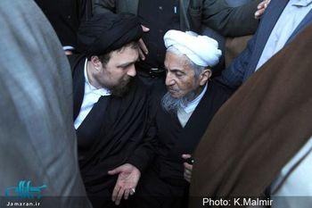 پیام تسلیت سید حسن خمینی در پی درگذشت آیت الله صانعی