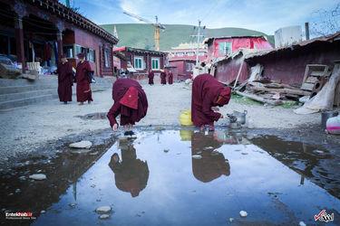 زندگی در بزرگترین صومعه بوداییهای جهان در مغولستان