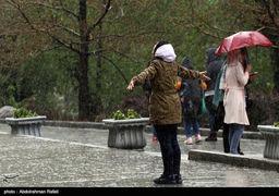 رگبار ایران را فرا میگیرد