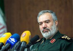 دریادار فدوی: اقدام متقابل ما علیه توقیف نفتکش ایرانی اعلام میشود