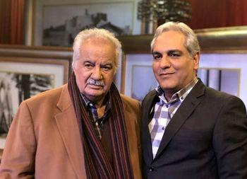 پخش گفتوگوی ناصر ملکمطیعی در «دورهمی» از یک شبکه ماهوارهای+ عکس