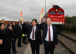 آغاز به کار خط آهن باری جدید بلژیک به چین