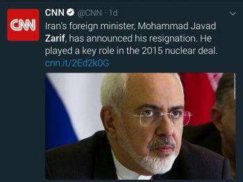 بعد از استعفای ظریف، ایران هم از برجام خارج میشود؟