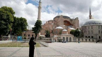 ایاصوفیه باز مسجد شد