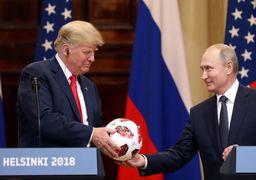 توپ اهدایی پوتین به ترامپ حاوی یک تراشه بود