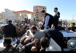 از ورزقان تا سرپل ذهاب؛ تفاوت برخورد احمدی نژاد و روحانی با زلزله زدگان