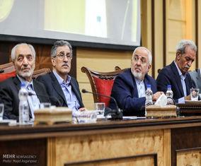 حضور ظریف در  جلسه اتاق بازرگانی ایران