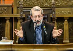 هشدار شدید لاریجانی به آمریکاییها: اگر مختصر عقلی دارید، وارد جنگ نظامی با ایران نشوید