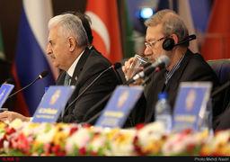 لاریجانی: جنگ و بحرانهای تروریستی در آسیا عامل بیرونی دارد/تجارت راه خود را از میان تحریم باز میکند