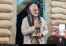 حضور سردار سلیمانی در اجلاسیه نهایی کنگره ۶۵۰۰ شهید استان کرمان