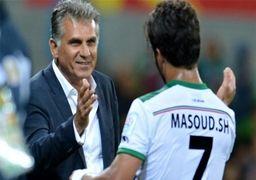 فوتبالیست ایرانی در آستانه تاریخ سازی