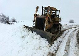 اعلام آماده باش سازمان راهداری برای موج جدید برف و کولاک