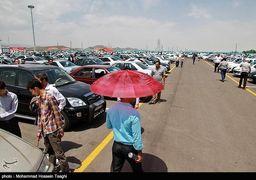 ریزش قیمت ها در بازار خودرو