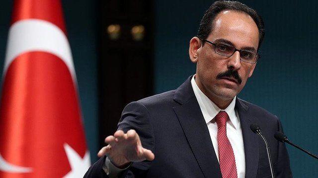 ابراهیم کالین سخنگو اردوغان
