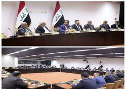 دیدار ظریف با رئیس مجلس و نمایندگان اقلیتهای دینی عراق