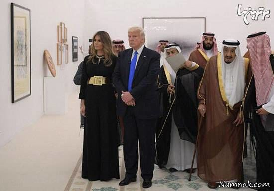 لباس ملانیا ترامپ