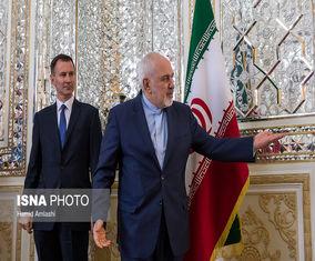 تصاویر دیدار وزیر امورخارجه انگلیس با ظریف