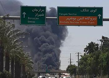 3 شناور ایرانی آتش گرفت
