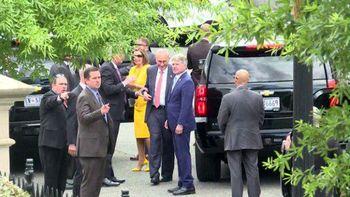نشست ۹۰ دقیقهای مقامات ارشد آمریکا در کاخ سفید درباره ایران