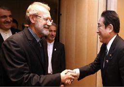 لاریجانی: ایران علاقهمند به گسترش روابط با ژاپن است