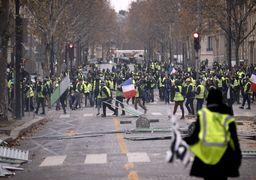 اعتراضات فرانسه؛ لباسشخصیها در میان معترضان/تجمع 5 هزار نفری در شانزلیزه/ بازداشت حدود 500 نفر