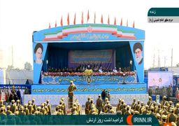 روحانی: دولت با همه توان و قدرت در کنار ارتش و سپاه است برای تجهیز به هر سلاحی که برای دفاع از کشور نیاز دارند