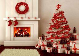 عجیبترین درخت کریسمس امسال +عکس