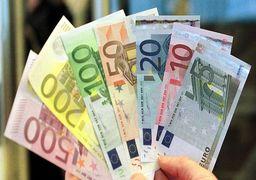 قیمت یورو امروز دوشنبه 19/ 12 / 98 | قیمت یورو در صرافی ها صعودی شد