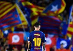 روزی که مسی در رختکن بارسلونا گریه کرد +عکس