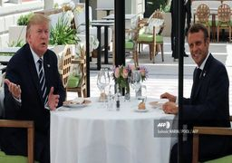 فرانسه: مکرون و ترامپ درباره ایران اختلاف نظر دارند