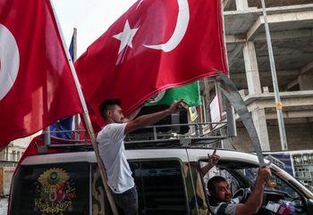 برگزاری یک مسابقه فوتبال تحت تاثیر حمله ترکیه به کردهای سوریه