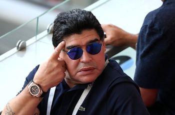 پیام دیگو مارادونا برای فیدل کاستروی فقید