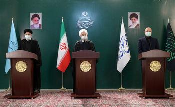 روحانی: دولت نتوانست نمره ۲۰ بیاورد، ولی ملت ما نمره ۲۰ کسب کرد