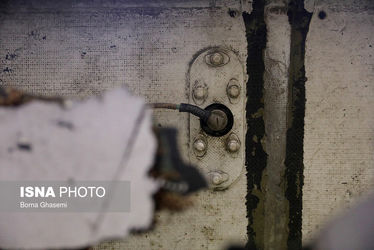 تصاویر لاشه پهپاد سرنگونشده آمریکایی