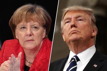 اختلاف نظر مرکل و ترامپ درباره سوریه و داعش