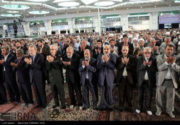اقامه نماز عید فطر به امامت رهبر معظم انقلاب