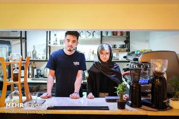 کافهای برای نزدیکی ایرانیها وافغانستانیها در قلب تهران+عکس