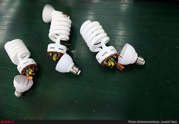 خطرات شکستن لامپ کممصرف برای سلامتی