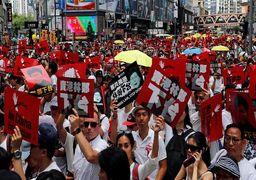 ابرسلاح وحشتناک چینی علیه تظاهرکنندگان + عکس